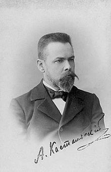 Aleksander Kastalsky. Kuvalähde: Wikipedia