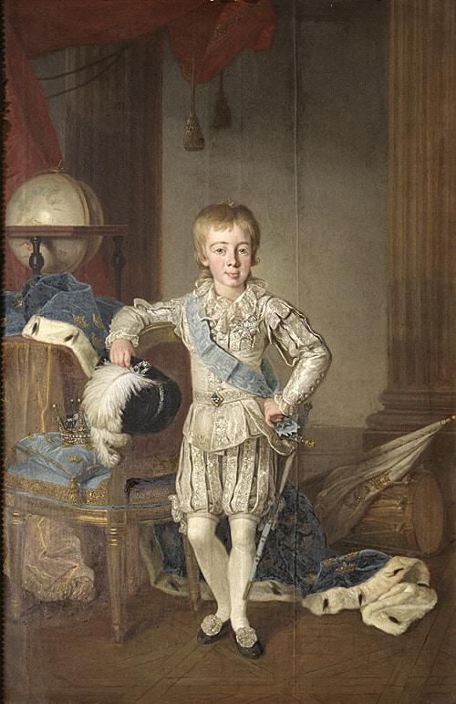 GRH+samling+porträtt+1690+Gustav+IV+Adolf+1778-1837+av+Per+Krafft+d.ä.+Foto+Hans+Thorwid+Nationalmuseum.+500+bred